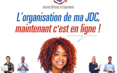 L'organisation de ma JDC, c'est maintenant en ligne !